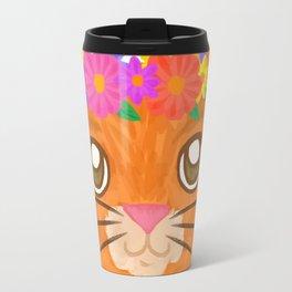 Frida Cat Travel Mug