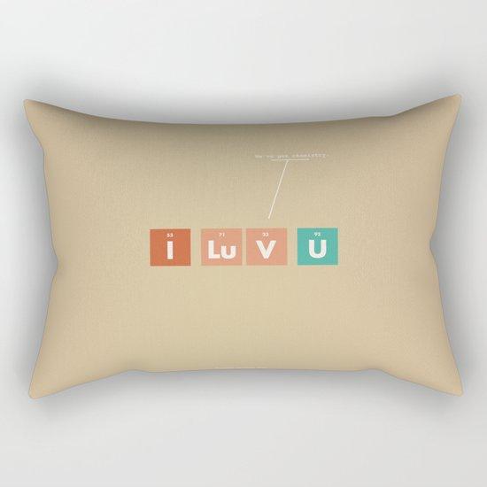 We've Got Chemistry Rectangular Pillow