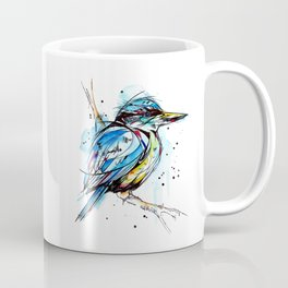 Bold Kingfisher  Coffee Mug