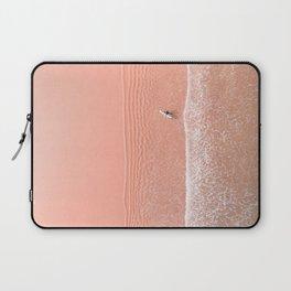 pink sands surf Laptop Sleeve