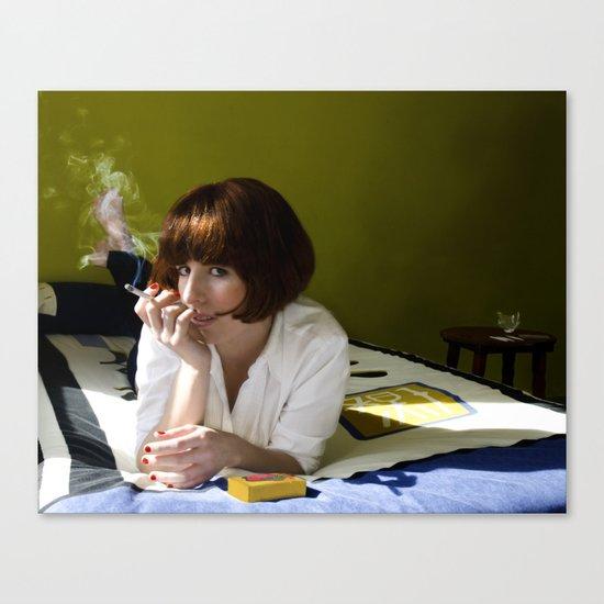 Mia, Pulp Fiction Canvas Print