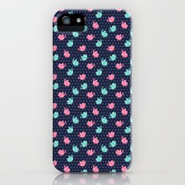 Freely Birds Flying - Fly Away Version 1 - Night Color iPhone Case