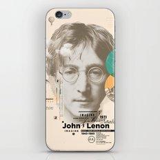 john lenon-imagine iPhone & iPod Skin