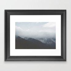 silence beckons Framed Art Print