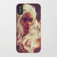 khaleesi iPhone & iPod Cases featuring Fireheart by Alice X. Zhang