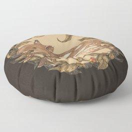 Living Fossil Floor Pillow