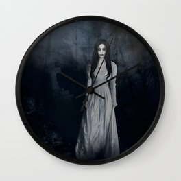 Ghost In The Mist Cristina Scabbia Inspired Artwork Wall Clock