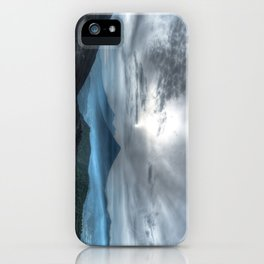 Volcanoes at large iPhone Case