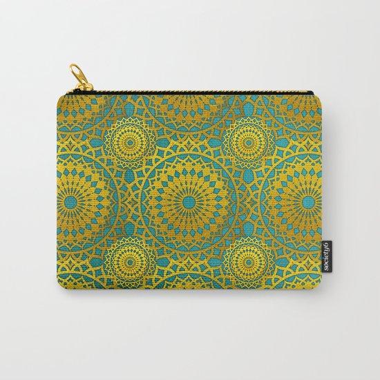 Golden Mandala 2 Carry-All Pouch