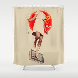 1983 Shower Curtain