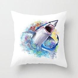 Mako Impact Throw Pillow