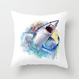 Mako Impact Throw Pillow