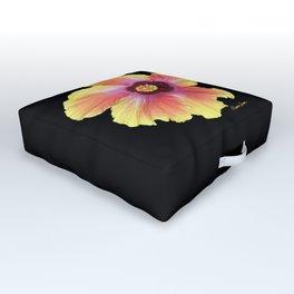 Hibiscus Outdoor Floor Cushion