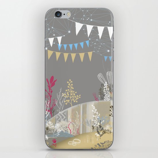 grey sea wonderland iPhone & iPod Skin