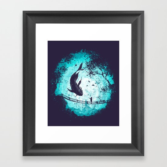 My Secret Friend Framed Art Print