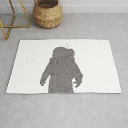 Astronaut White Rug