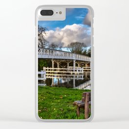Whitchurch Toll Bridge Clear iPhone Case