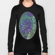 Percolated Purple Potato Flower Long Sleeve T-shirt