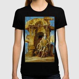 Ercole de'Roberti Saint Jerome in the Desert T-shirt