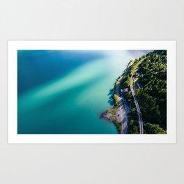 Lake Brienz, Switzerland Art Print