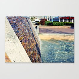 Waterfall Wall Version 2 Canvas Print