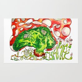Psyko Mushroom Rug