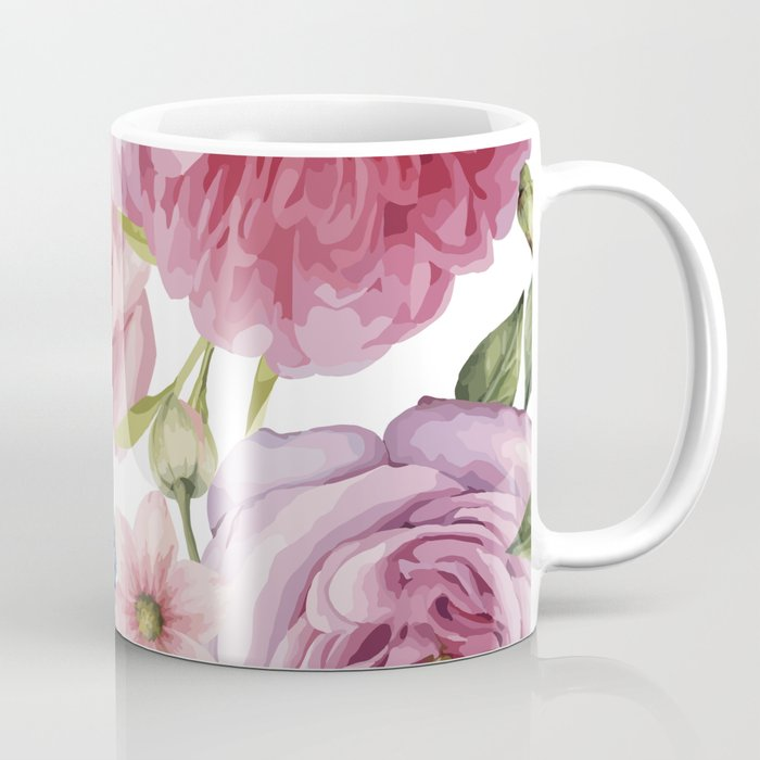 WATERCOLOR ROSES Coffee Mug