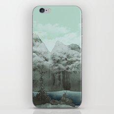 The Mountain Lake (Green) iPhone & iPod Skin