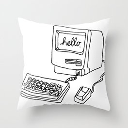 What would Steve say? Throw Pillow