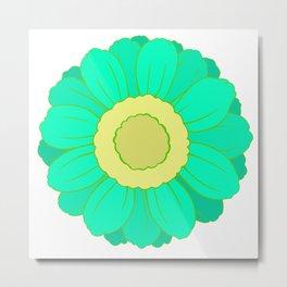 Unadorned Flower  Metal Print