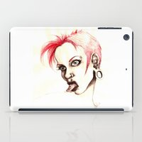 rebel iPad Cases featuring rebel by cistus skamberji