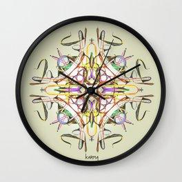 Symbiosis II Wall Clock