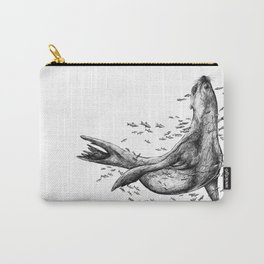 Seal and Fish Carry-All Pouch