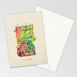 Jorge Luis Borges Stationery Cards