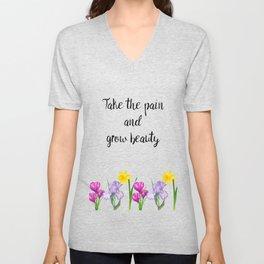 Grow Beauty Unisex V-Neck