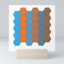 Hexagon 1.0 Mini Art Print
