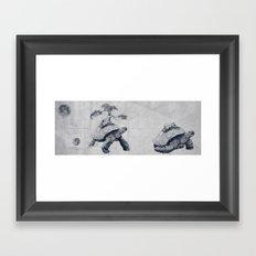 Tortoises - Fate Framed Art Print