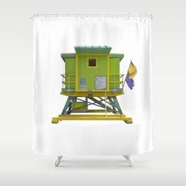 Lifesaver 003 Shower Curtain