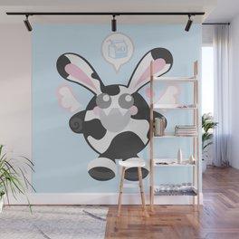 Bunbun Cow Wall Mural