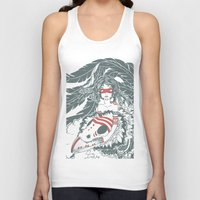 pocahontas Tank Tops featuring Pocahontas by ItDrizzles