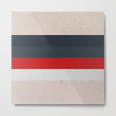 COLOR PATTERN - TEXTURE Metal Print