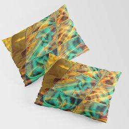 Microscopic Lightspeed Pillow Sham