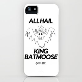King Batmoose iPhone Case