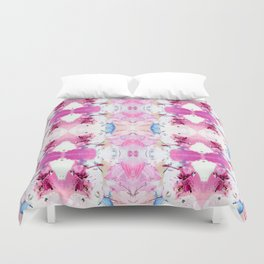Pinky Swear (Abstract Paint Photograph) Duvet Cover