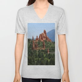 Cathedral Valley Unisex V-Neck