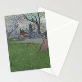 Orchards in Blossom, View of Arles Stationery Cards