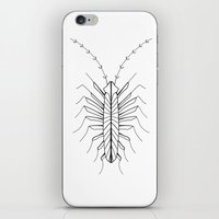 bugs iPhone & iPod Skins featuring BUGS by Fill