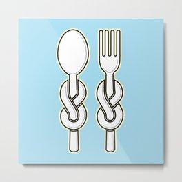 Dinner Time! Metal Print