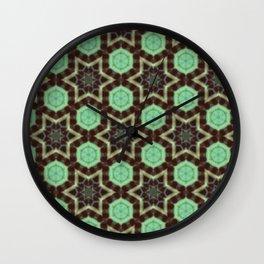 Mint Chocolate Wall Clock