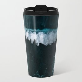 Wave in Motion - Ocean Photography Travel Mug